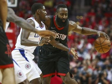 NBA: James Harden's 51-point outing in vain as Rockets lose to Clippers; Warriors beat Lakers for 11th straight win
