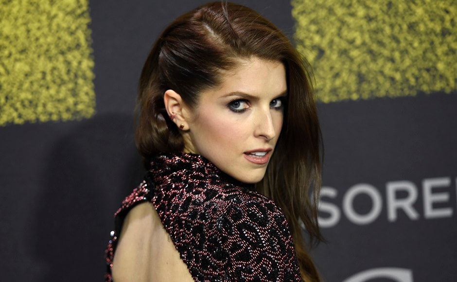 Anna Kendrick, who plays Beca Mitchell, arrives at the Los Angeles premiere of Pitch Perfect 3 at the Dolby Theatre. AP