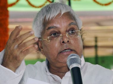 Lalu Prasad Yadav attacks Nitish Kumar in open letter, claims Arrow is symbol of violence, lantern stands for light, will shine brighter than ever