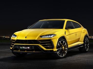The Lamborghini Urus boasts the high center-of-gravity. Image: Lamborghini