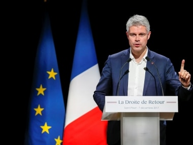 Frances conservatives choose Laurent Wauquiez as leader: 42-year-old is a staunch critic of Emmanuel Macron