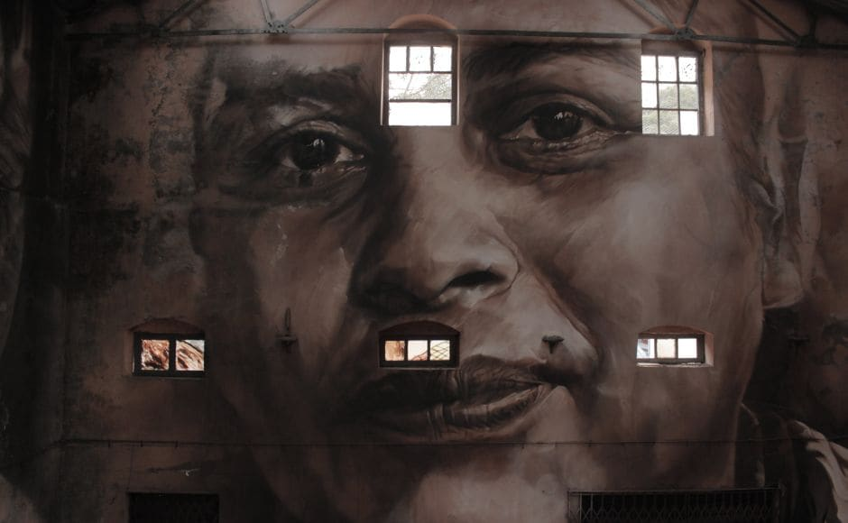 Artwork by Australian street artist Guido Van Helten