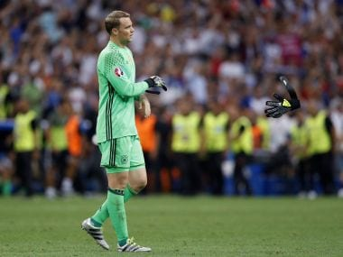 File image of Germany's Manuel Neuer. Reuters