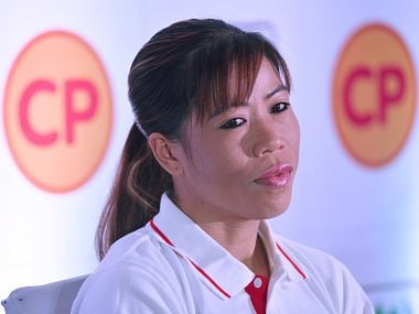 File image of Indian boxer Mary Kom. AFP