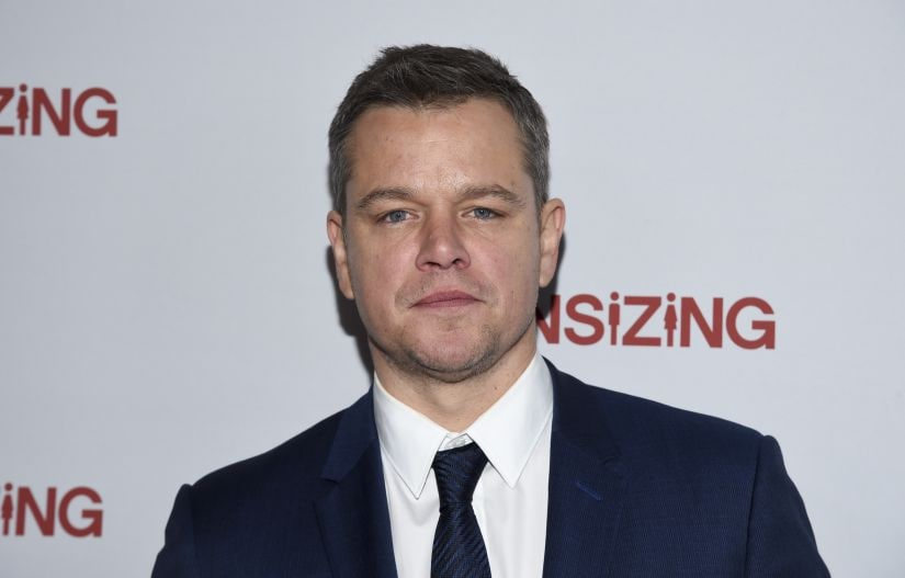 "Actor Matt Damon attends a special screening of ""Downsizing"" at AMC Loews Lincoln Square on Monday, Dec. 11, 2017, in New York. (Photo by Evan Agostini/Invision/AP)"