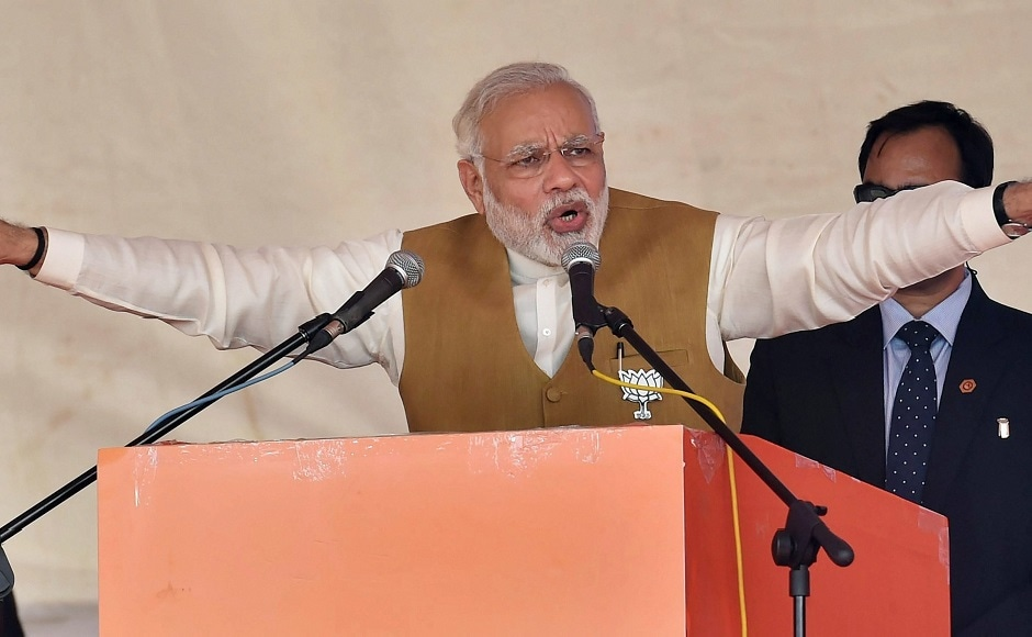 Narendra Modi kicks off campaign for second phase of Gujarat polls, calls Congress 'anti-development'