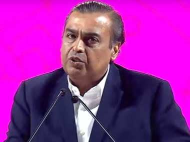 File image of Reliance Chairman Mukesh Ambani. YouTube screengrab