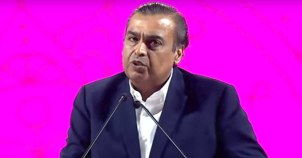 Google invests 33,737 rupees in Jio platforms for a share of 7.7 percent: RIL chairman Mukesh Ambani