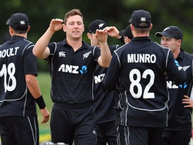 New Zealand vs West Indies: Kiwis defeat visitors by 66 runs in rain-curtailed 3rd ODI to clinch series 3-0