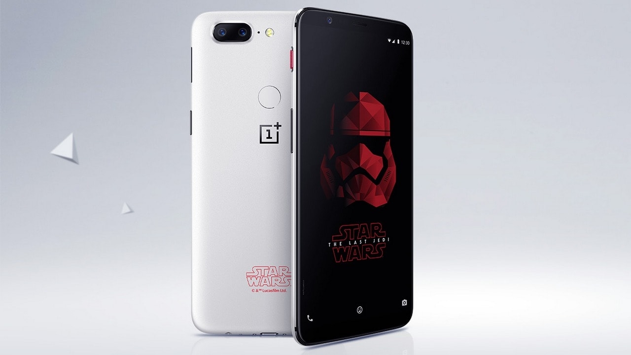 The OnePlus 5T Star Wars Limited Edition