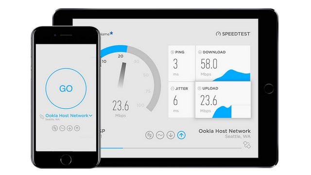 Speedtest is one of the most popular applications from Ookla. Image: Ookla