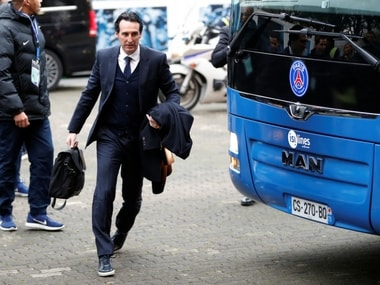 File image of PSG manager. Reuters