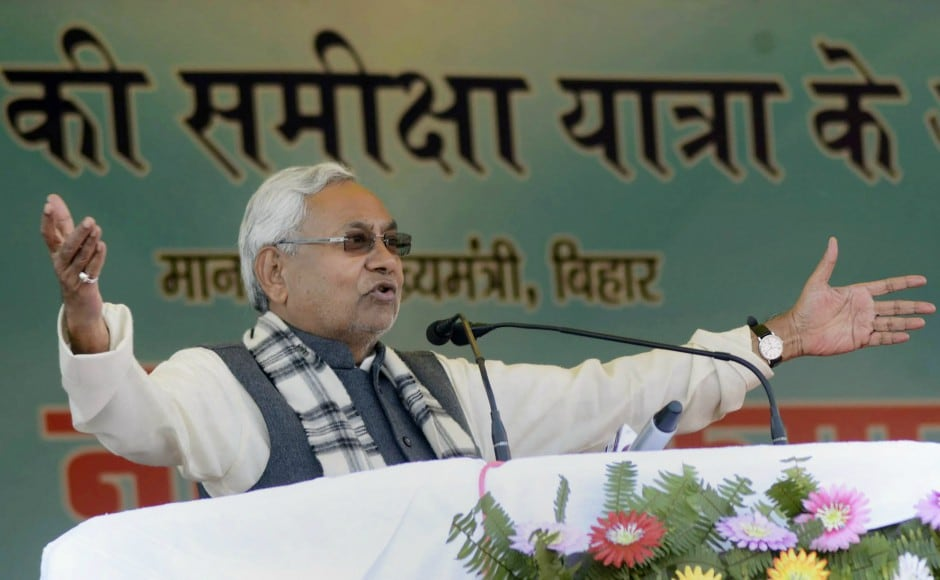 Nitish Kumar embarked on the yatra to take stock of the developmental schemes of his government on the ground. PTI