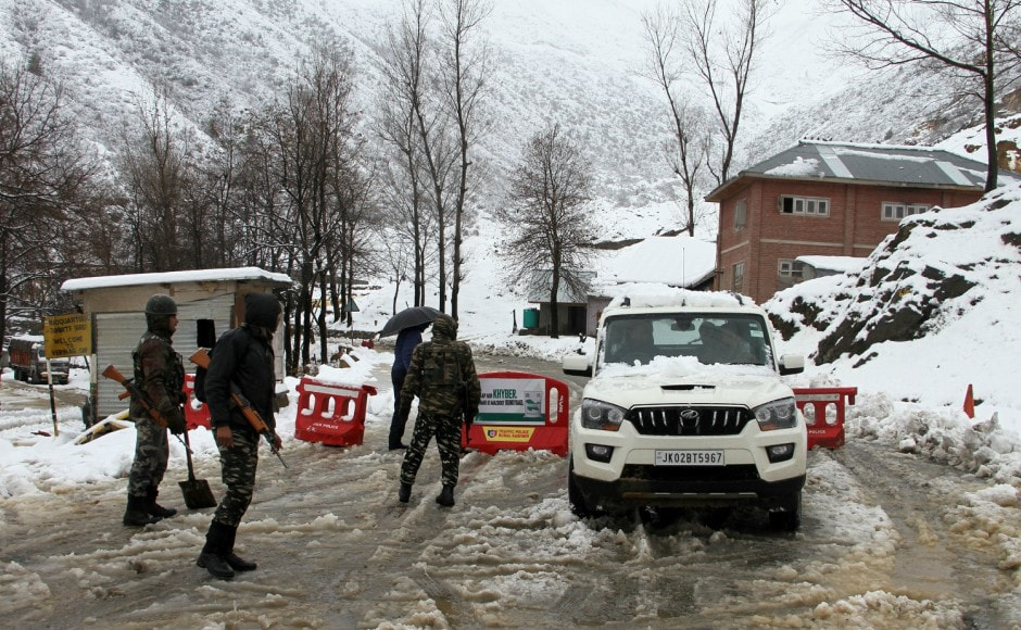 The present weather conditions in Jammu and Kashmir are likely to continue till Thursday due to a western disturbance over the state, the IMD said. Firstpost/Sameer Mushtaq