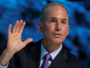 CEO of The Boeing Company Dennis Muilenburg. Reuters