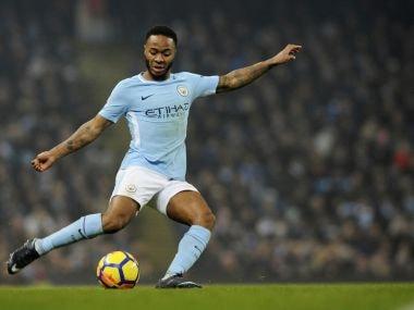 Manchester City's Raheem Sterling. AP
