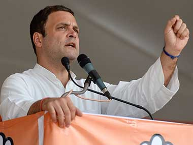 File image of Congress vice-president Rahul Gandhi. Twitter @INCIndia