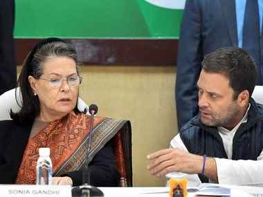 Rahul Gandhi chairs first CWC as Congress president, says BJP's foundation based on lies