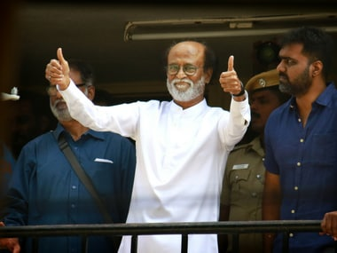 File image of actor Rajinikanth. AP