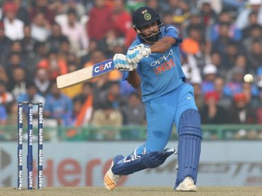 Rohit Sharma in action against Sri Lanka in 2nd ODI at Mohali. ICC