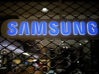 The logo of Samsung Electronics. Reuters