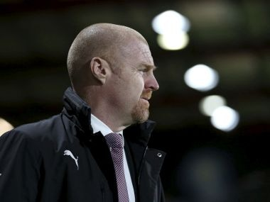 Burnley manager Sean Dyche. AP