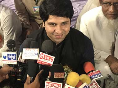 File image of Congress Maharashtra activist Shehzad Poonawalla. Twitter @Shehzad_Ind