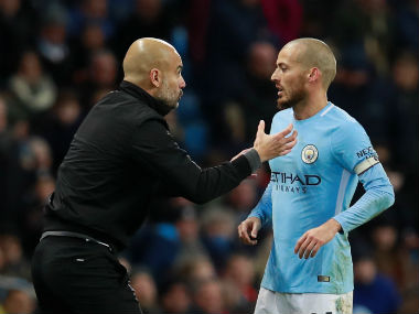Pep Guardiola declares David Silva fit for derby with Manchester United. Reuters