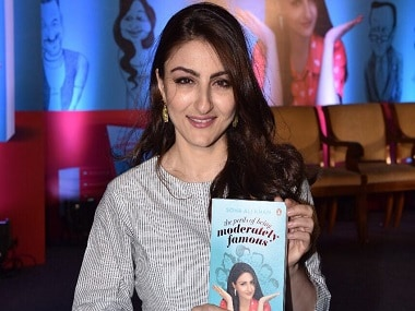Soha Ali Khan's genial memoir The Perils of Being Moderately Famous manages to keep it real
