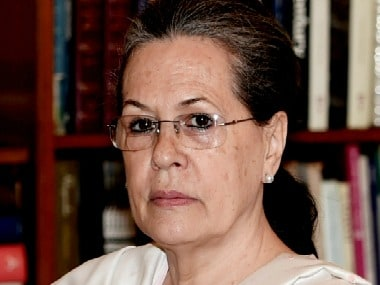 File image of Congress chief Sonia Gandhi. PTI