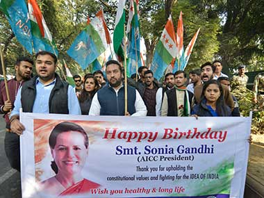 Sonia Gandhi turns 71, leaders across party lines extend greetings to Congress president