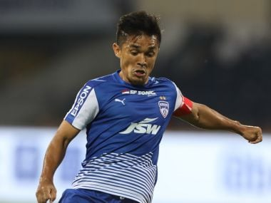 File image of Bengaluru FC and Indian football team captain Sunil Chhetri. ISL