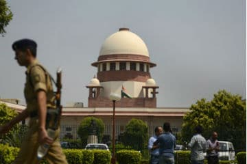 A file image of the Supreme Court of India. AFP