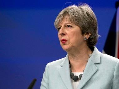 File image of British prime minister Theresa May. AP