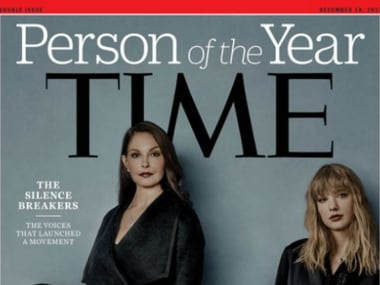 Time magazine names sexual harassment 'Silence Breakers' as Person of the Year