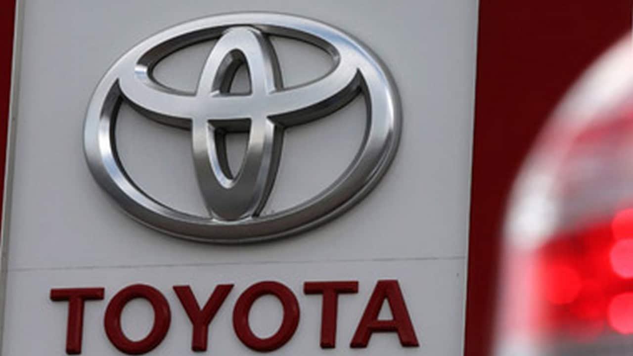 Toyota logo. Image: Reuters