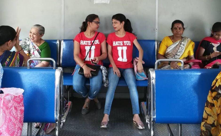 Photojournalist Anushree Fadnavis captures the stories of the co-passengers she meets on her train journeys. Instagram/anushree_fadnavis