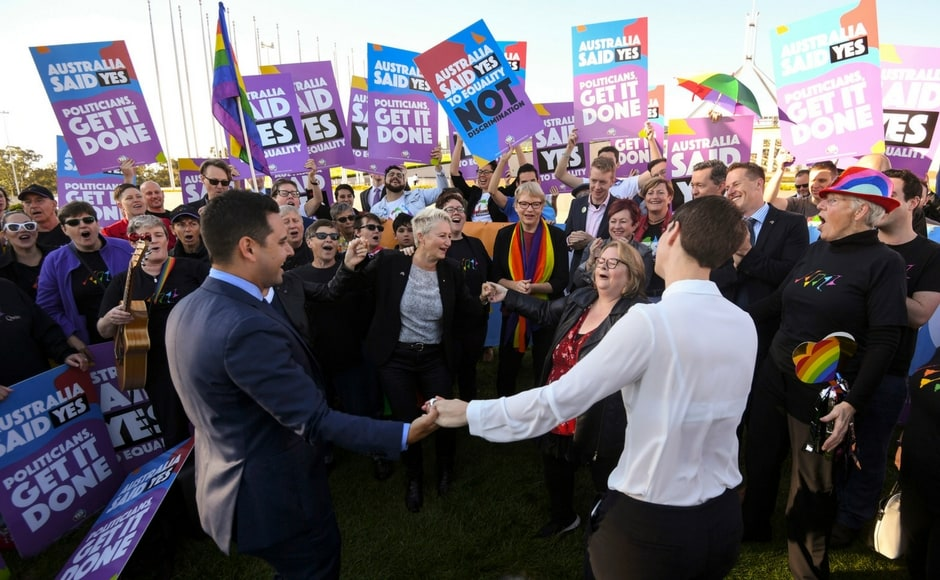 Australia's parliament passed a bill legalising same-sex marriage on Thursday, after the nation overwhelmingly voted in favour of changing the law, ending decades of political wrangling. AP