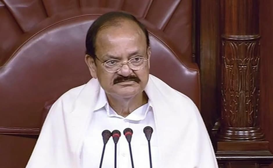 As Chairman M Venkaiah Naidu began the session in the Upper House, Opposition parties created a ruckus over former JD(U) chief Sharad Yadav's expulsion from the House and demanded a clarification from the Chair. PTI