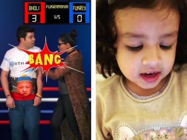 Richa Chadha in new Fukrey Returns promo; Ziva Dhoni sings: Social Media Stalkers' Guide