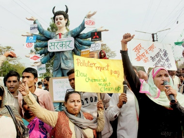 Demonstrations mark 33rd anniversary of Bhopal gas tragedy as protesters demand justice