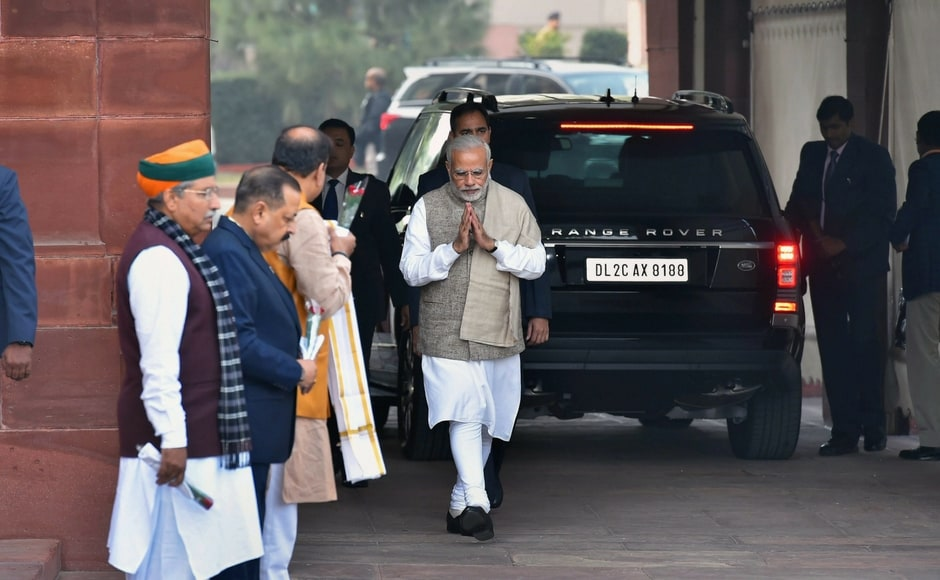 Day one of the Winter Session of Parliament started in stormyfashion on Friday, with the Opposition forcing two quick adjournments in Rajya Sabha. PTI