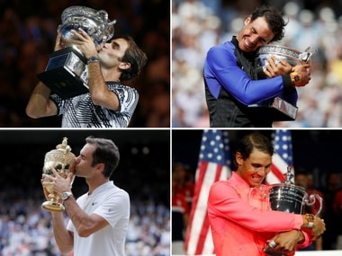 Year in review: Rafael Nadal, Roger Federer staged astonishing comebacks to rule men's tennis in 2017