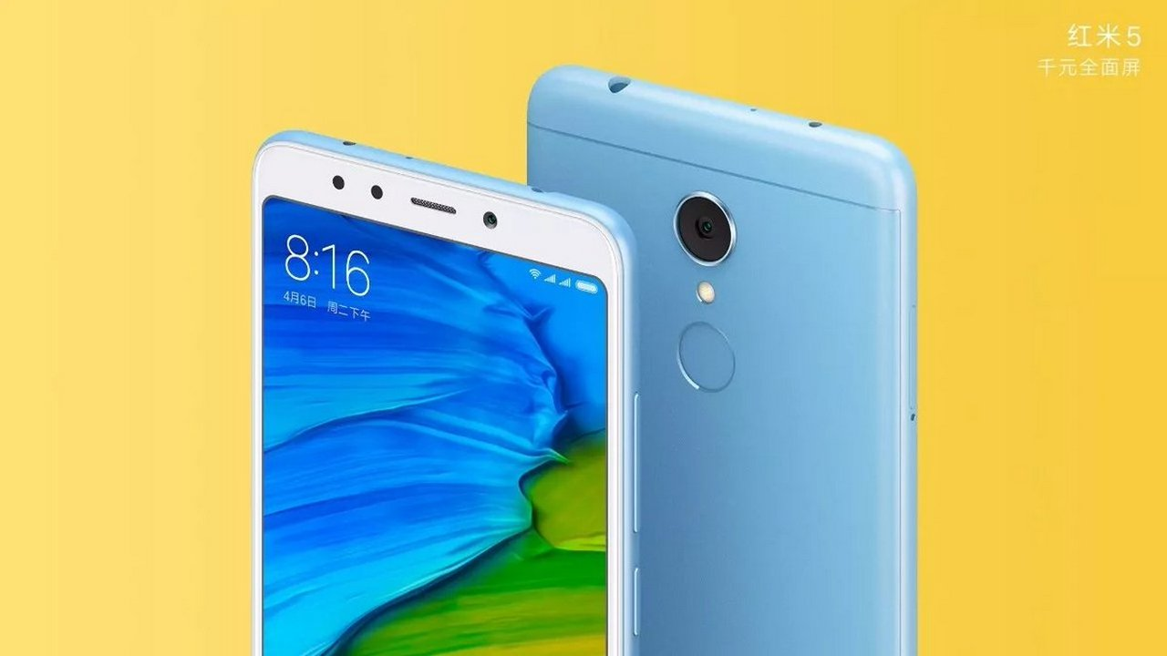 Xiaomi Redmi 5. Image courtesy: Twitter: @donovansung