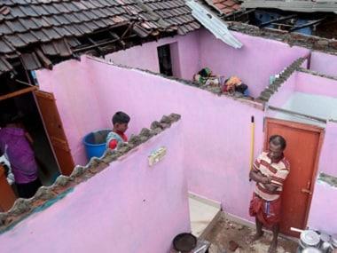 Cyclone Ockhi damaged 4,501 houses in Kanyakumari, severely crippling normal life in Tamil Nadu. PTI