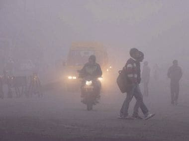 Low visibility, dense fog hit Delhi again; 12 trains cancelled, 20 flights delayed