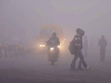 Fog in Delhi. Representational image. PTI