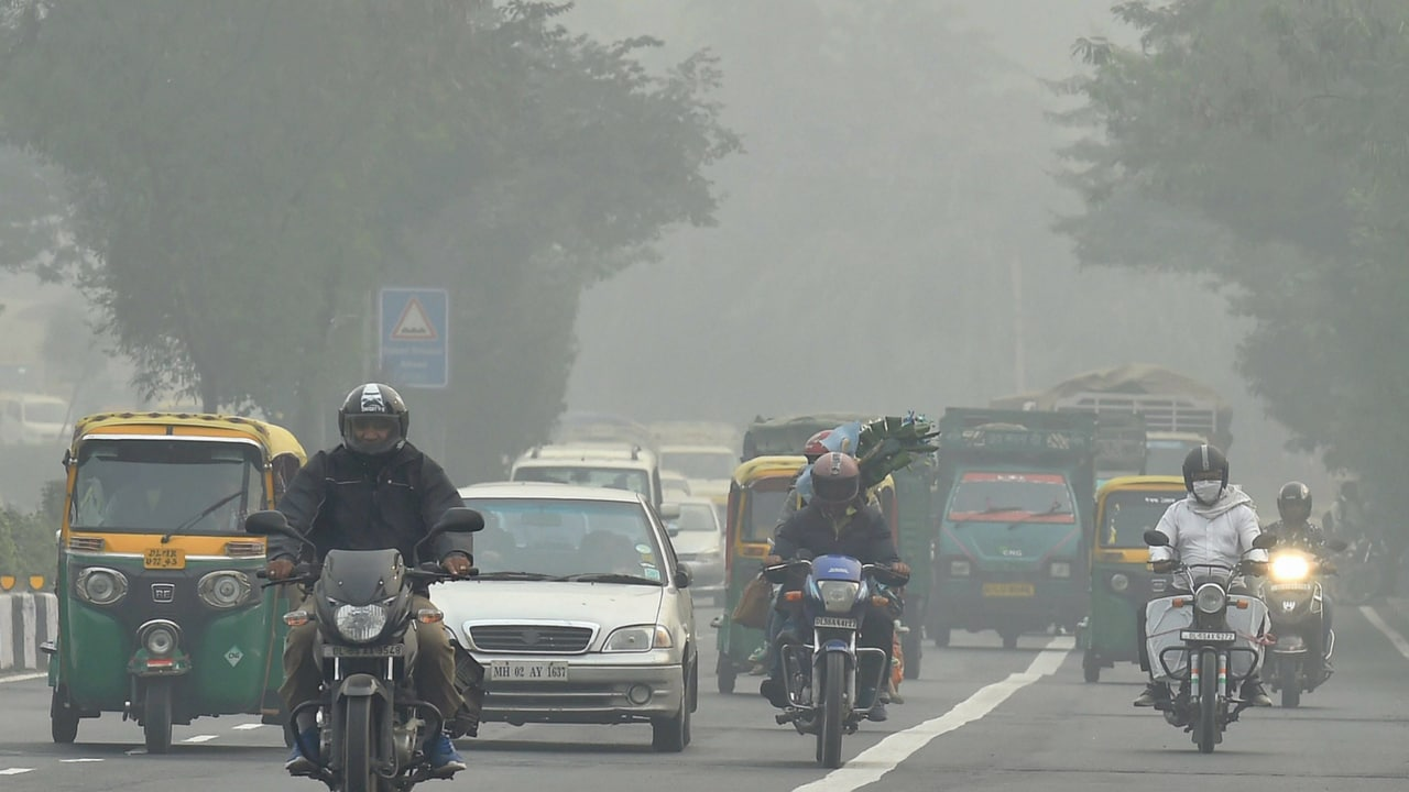 Delhi air-pollution. Image: Reuters