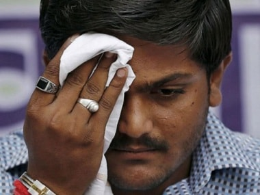 File image of Patidar community leader Hardik Patel. News18