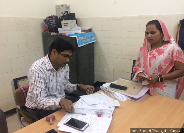 """""""Surat is called as mini-India,"""" said Hiren Patel, a counsellor at the Pandesara Urban Health Centre's STD and HIV centre, referring to the migrants who come to the city for work opportunities."""